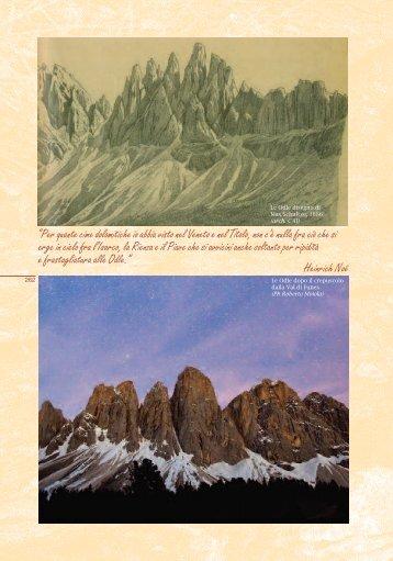 """""""Per quante cime dolomitiche io abbia visto nel Veneto e nel Titolo ..."""