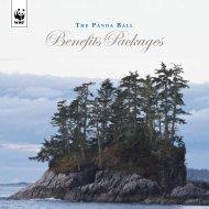 2012 Panda Ball Benefits Package - WWF Canada