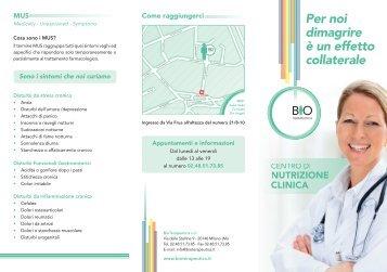 sestino bio_esec:Layout 1 - Bioterapeutica.it