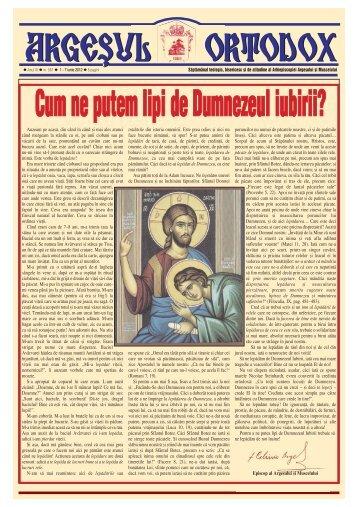 Cum ne putem lipi de Dumnezeul iubirii? - Argesul Ortodox