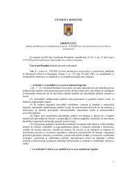 1 GUVERNUL ROMÂNIEI ORDONANŢĂ pentru modificarea şi ...
