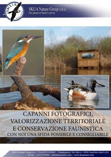 capanni fotografici, valorizzazione territoriale e ... - skua nature