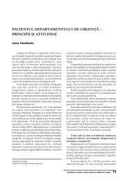 Pacientul departamentului de urgenta - ati | anestezie terapie intensiva