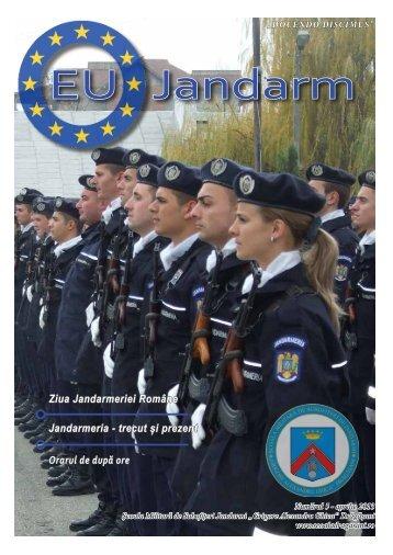 """EU Jandarm - Şcoala Militară de Subofiţeri Jandarmi """"Grigore ..."""