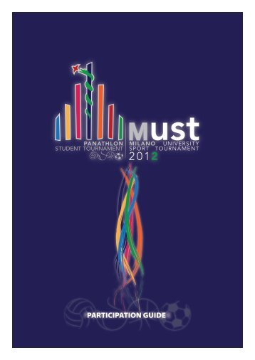 MUST2012 Partecipation Guide - Milano University Sport ...