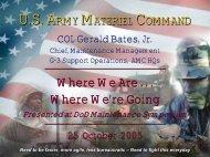 Col Gerry Bates - SAE International