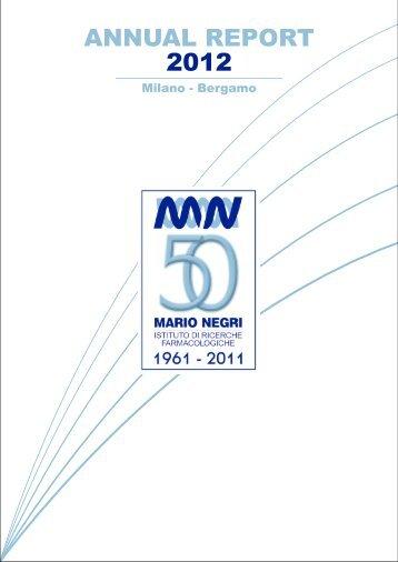 Untitled - Istituto di Ricerche Farmacologiche Mario Negri
