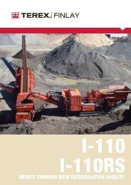 I-110RS Impact Crusher - Raco Rappresentanze