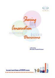 Sharing Conservation Decisions: Lessons learnt from an ICCROM ...