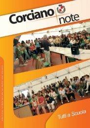 Corciano Note 10 2007.pdf - Comune di Corciano