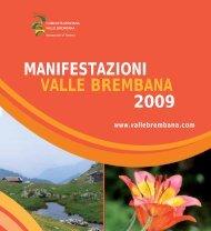 Manifestazioni Valle Brembana Estate 2009 - Pieroweb