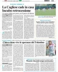 19/05/2008 Play Out - partite di andata - Gironi F - serie d news