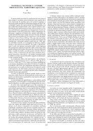 F. REDI, Materiali, tecniche e cantieri - BibAr
