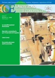 Osservatorio Economico n. 3 - Camera di Commercio di Chieti