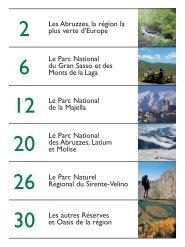 Les Abruzzes, la région la plus verte d'Europe Le Parc ... - Pepe Mare