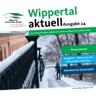 aktuellAusgabe 24 - Wippertal Immobilien GmbH