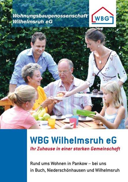 Imagebroschüre - Wohnungsbaugenossenschaft Wilhelmsruh eG