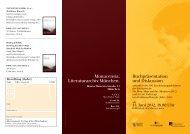 Veranstaltungsflyer (PDF) - Waldemar-Bonsels-Stiftung