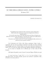 IL VARO DELLA REGIA NAVE ANDREA DORIA - Marina Militare