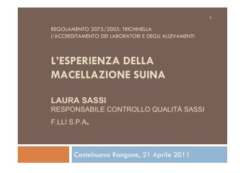Laura Sassi.pdf - Alimenti & Salute