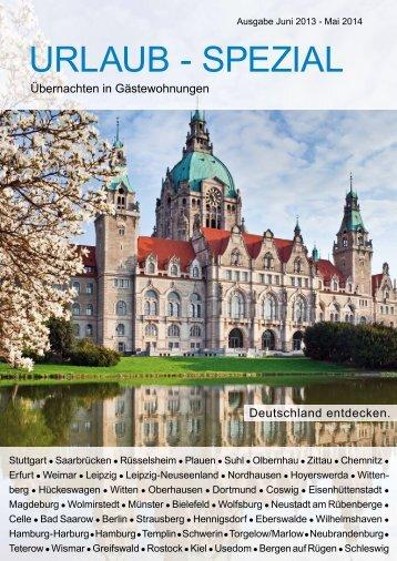 Katalog Urlaub-Spezial - Immobiliengruppe Saarbrücken
