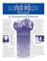 A Sentimental Journey - Academy of Our Lady Alumnae Association