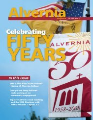 Celebrating - Alvernia University