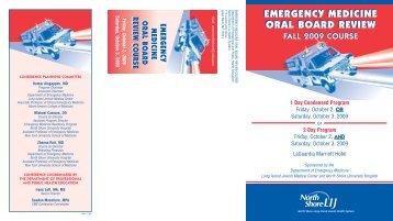 12411 HE EmergMed Oral Bd F09,0.pdf - North Shore-LIJ Health ...