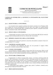 4 - All.3 - Capitolato - Comune di Pitigliano