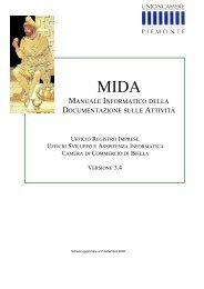manuale informatico della documentazione sulle attività - Camere di ...