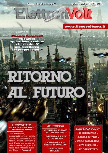 marzo-aprile 2012 - Liceo Scientifico Statale Vito Volterra