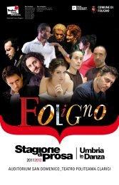 Teatro Politeama Clarici – Auditorium San Domenico di ... - Subasio tv