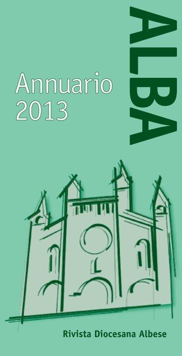 Annuario 2013 - Diocesi di Alba