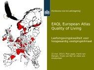 EAQL European Atlas Quality of Living