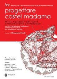 A. Camiz (ed.), Progettare Castel Madama. Lettura e progetto dei ...