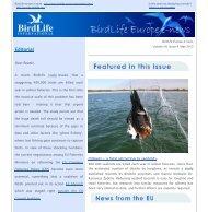BirdLife Europe e-news, Vol VII, Issue 4, May 2013