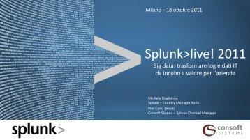 Big data - Gruppo Consoft Sistemi Spa