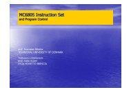 MC6805 Instruction Set - Ipsia Moretto