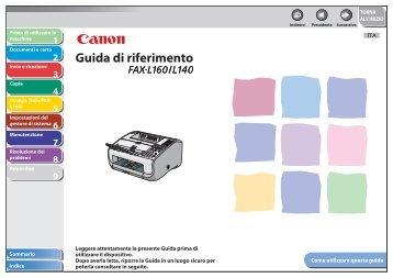 2. Premere [ ] o [ ] per selezionare - Canon Download Centre