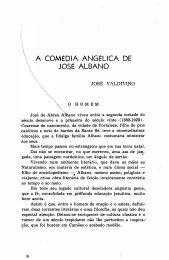 A COMÉDIA ANGÉLICA DE JOSÉ ALBANO