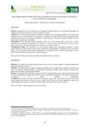 Reconhecimento precoce do quadro de sepse em terapia intensiva