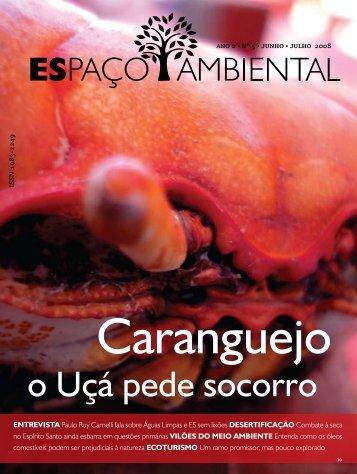 Caranguejo - Revista Espaço Ambiental