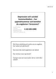 Daniel Frydman - Psykisk O-hälsa