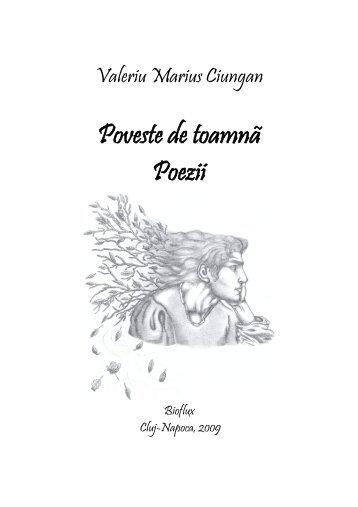 Poveste de toamnă Poezii - Editura Bioflux