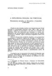a influência inglesa em portugal - Revista de História das Ideias