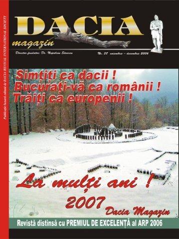 noiembrie-decembrie 2006 - Dacia.org