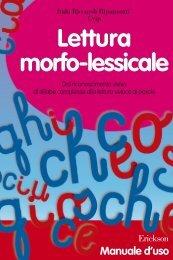 Lettura morfo-lessicale Lettura morfo-lessicale - Edizioni Centro ...