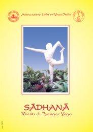 Opuscolo gennaio 07 - Iyengar Yoga