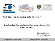 """""""La dislessia da ogni punto di vista"""" - OSD Genova e Tigullio"""