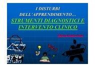Strumenti Diagnostici e Intervento Clinico - Ordine Psicologi Molise
